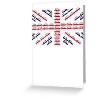 Mini Union Jack Greeting Card