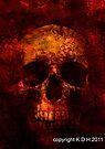 skulls 001 by Karl David Hill