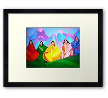 Ladies of the Community Framed Print