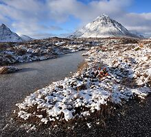 Winter Landscape...Glencoe. by John Cameron