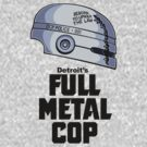 Full Metal Cop by DoodleDojo