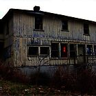 Abandoned Haunted House  by Welte Arts & Trumpery