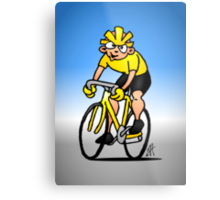 Cyclist - Cycling Metal Print