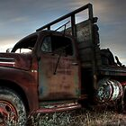 Old Ford F-5 by Candy Gemmill