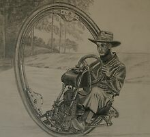 One Wheel Motorcycle by Anthony Superina