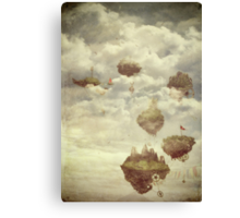 Floating Islands Canvas Print