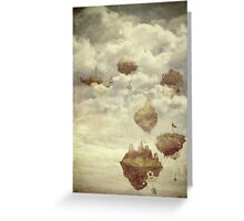 Floating Islands Greeting Card