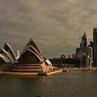 Golden Glow Sydney Opera House by Noel Elliot