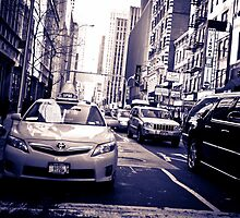 New York Traffic by Kenny Castle