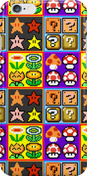 Mario Power-Up Evolution by brotherbrain