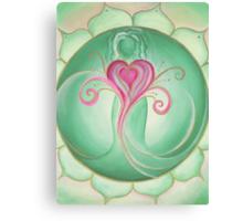4th Chakra - Heart Chakra Canvas Print