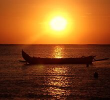 Sunset Longboat. by ThePigmi