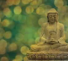 buddha light gold by hannes cmarits