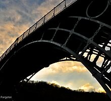 The Ironbridge, Shropshire by rexhank