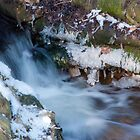 Frozen Waterfall by rexhank