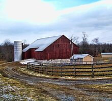 West Virginia Barn by James Brotherton