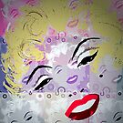 Marilyn Pop Art by Trish Loader