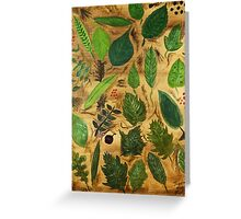 Wisconsin Leaves Greeting Card