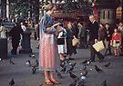 Trafalgar Square 195709030004 by Fred Mitchell