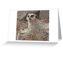 Lean on me baby! Greeting Card