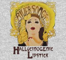 """Professor River Song's Hallucinogenic Lipstick"" T-Shirt"