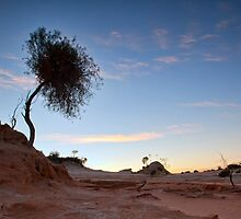 Morning Has Broken - Mungo, NSW by Malcolm Katon
