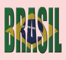Brazilian flag Kids Clothes