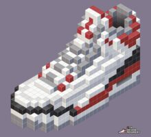 3D 8-bit Air Jordan 3 Kids Clothes