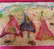 WILD WEST PANTS PARTY ~ BIG SLEEPY TEEPEE Beach party 1 by Tuartkatz