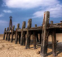 Derelict Jetty by Brian Barnett