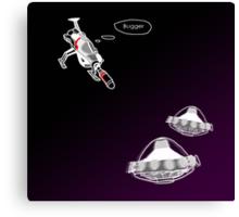 UFO - Interceptor (alternative version) Canvas Print