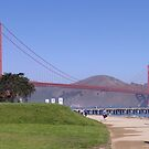 Crissy Field and Golden Gate Bridge by AH64D