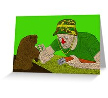 Bill Murray Caddy Shack Greeting Card