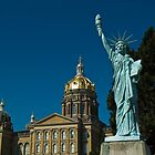 Lady of Liberty at State Capitol by Paul Barnett