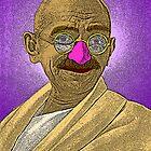 Gandhi by CultureCloth