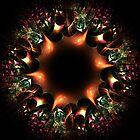 Copper wreath by vivien styles
