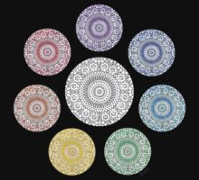 colours of life - chakras Kids Clothes
