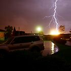 Lightning Crashes - Western Sydney Thunder Storm by Dean Perkins