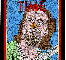 Big Lebowski Time Magazine by CultureCloth
