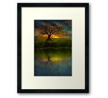 Silent Tree I Framed Print