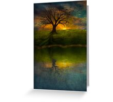 Silent Tree I Greeting Card
