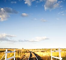There's a Track Winding Back - Inglewood Qld Australia by Beth  Wode