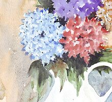 Hydrangeas don't lie by Maree Clarkson
