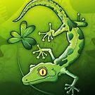 Saint Patrick's Day Gecko by Zoo-co