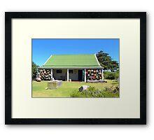 Fisherman's Cottage Framed Print