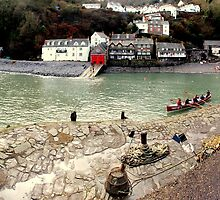 Clovelly Harbour by Mjay