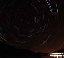 Horsetooth Reservoir Startrail by Shooter2765