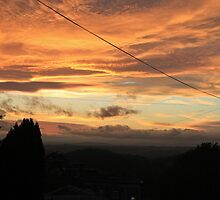 Electric Sunset, West Malvern by LisaRoberts