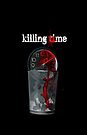 Killing Time - greeting card by Scott Mitchell