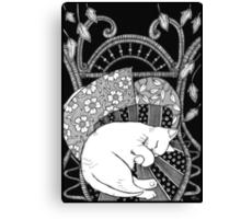 Sleeping Softly Canvas Print